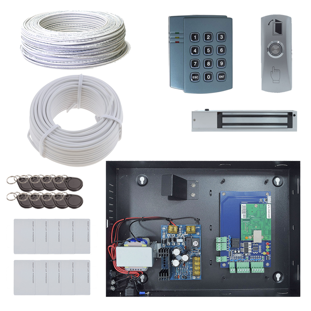 1 Door DX Board Package with Maglock OR Doorstrike