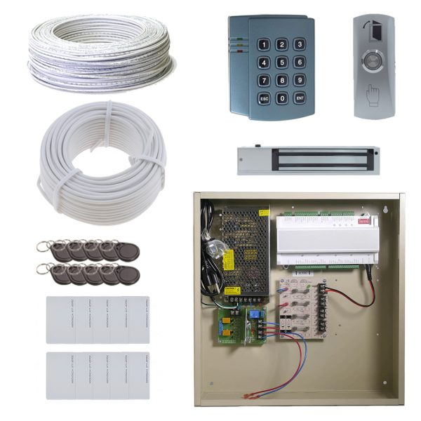 1 Door EL Board Package with 12A Power and Maglock OR Doorstrike