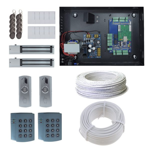 2 Door DX Board Package with Maglock OR Doorstrike