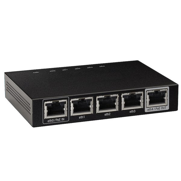 5 Port Security Router for Surveillance Camera System