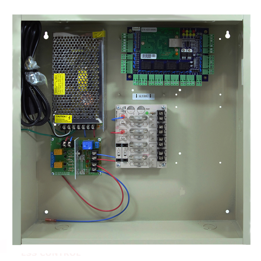 DX Four Door Access Control & 12V DC UL Power Supply