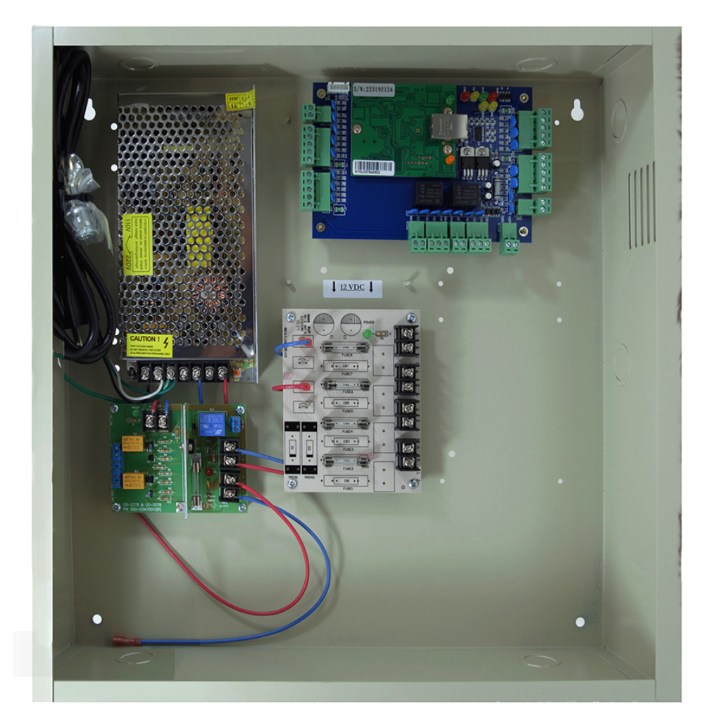 DX Two Door Access Control & 12V DC UL Power Supply