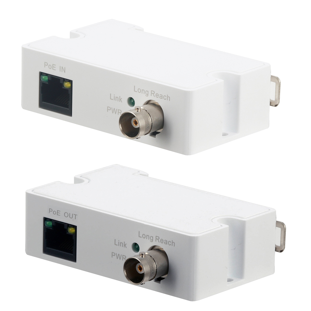POE Extender over Coax for Long Distance Runs