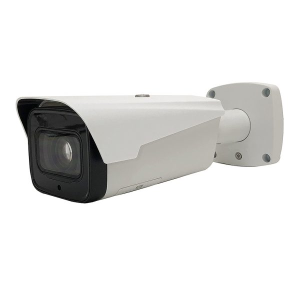 6MP Elite Motorized 2.7-13.5mm Starlight IP Bullet Camera W/ Audio and ePoE