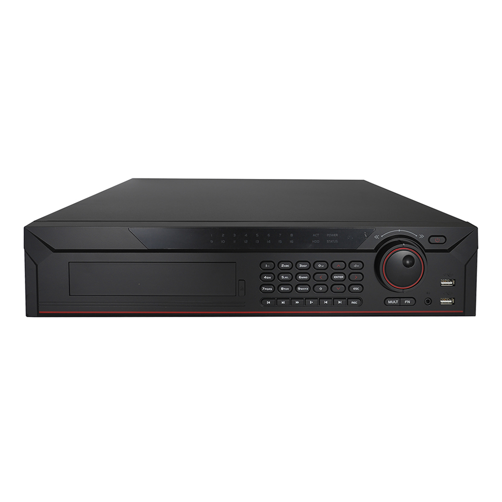 Elite 16 Channel 2U 4K Pentabrid H.265+ DVR W/ IVS