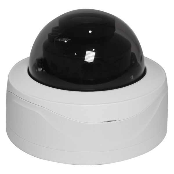 Elite 2MP Motorized Starlight™ IP Vandal Dome Camera W/ ePoE & Audio
