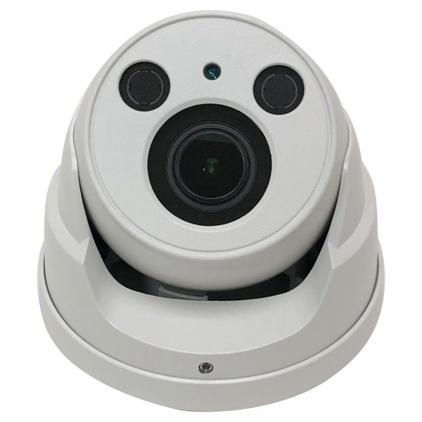 Elite 4MP IP Network Dome Camera with Motorized Zoom Lens