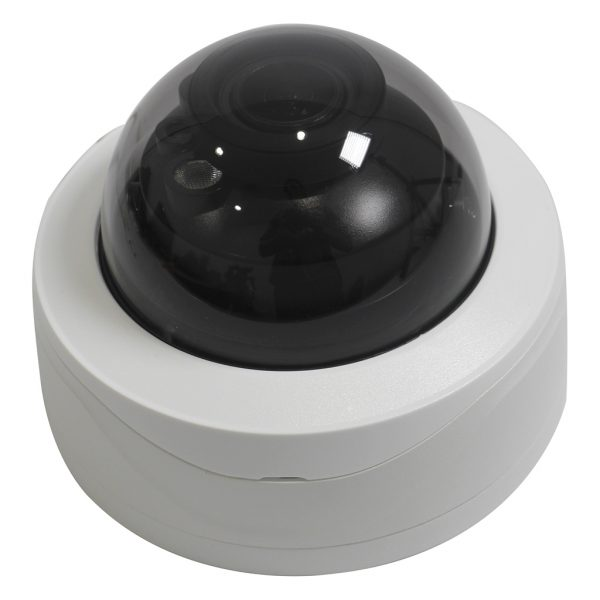 Elite 6MP 2.7-13.5mm Motorized Starlight IP Vandal Dome Camera W/ Audio and ePoE